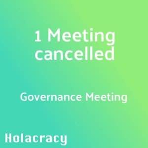 Governance Meeting führt zu Absage eines Abstimmungs-Termins