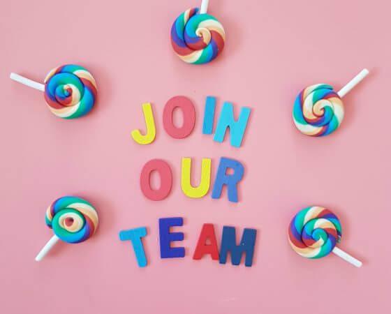 Join us – Recruiting von neuen Teammates